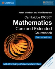 Cambridge IGCSE™ Mathematics Second edition Core and Extended Coursebook with Cambridge Online Mathematics (2 years)
