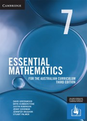 Essential Mathematics for the Australian Curriculum Year 7 Third Edition (print and interactive textbook powered by HOTmaths)