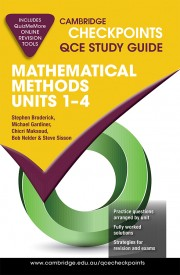 Cambridge Checkpoints QCE Mathematical Methods Units 1–4